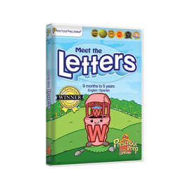 Preschool Prep Meet the Letters DVD  認識字母  單片