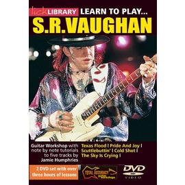 ~Lick Library系列~Learn to Play Stevie Ray Vaug