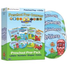 ~MerryGoAround~ Preschool Prep Series: 4DVD: