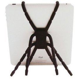 ASUS/samsung/聯想 7吋/8吋 平板用 神奇萬用蜘蛛支架/汽車用支架/單車支架 (黑/白) 中 [GRO-00004]