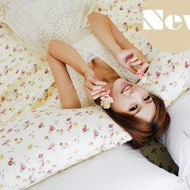 夢幻花園覺醒 雙人King Size床包薄被套4件組 純精梳棉 製 6^~7床包^~1 枕