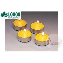 探險家戶外用品㊣NO.74309010 日本品牌LOGOS 香茅蠟燭 (4入) 香茅油驅蚊防蟲蠟燭 適用NO.74301920