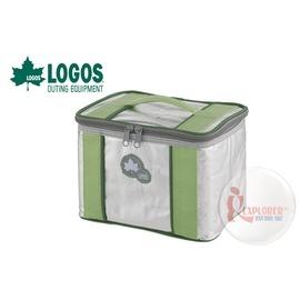 探險家戶外用品㊣NO.81660650 日本品牌LOGOS 軟式保冷袋3L-綠 保冷箱 折疊冰箱  冰筒 冰桶 冰磚