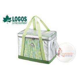 探險家戶外用品㊣NO.81670400 日本品牌LOGOS INSUL10軟式保冷袋35L-綠 保冷箱行動冰箱 冰筒 冰桶