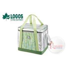 探險家戶外用品㊣NO.81670410 日本品牌LOGOS INSUL10軟式保冷袋25L-綠 保冷箱行動冰箱 冰筒 冰桶