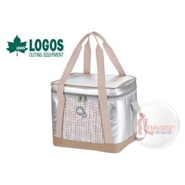 探險家戶外用品㊣NO.81670422 日本品牌LOGOS INSUL10軟式保冷袋15L-粉紅 保冷箱行動冰箱冰筒冰桶
