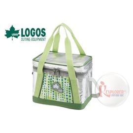 探險家戶外用品㊣NO.81670430 日本品牌LOGOS INSUL10軟式保冷袋5L-綠 保冷箱行動冰箱 冰筒 冰桶