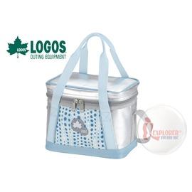 探險家戶外用品㊣NO.81670431 日本品牌LOGOS INSUL10軟式保冷袋5L-藍  保冷箱行動冰箱 冰筒 冰桶