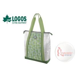 探險家戶外用品㊣NO.81670450 日本品牌LOGOS 軟式保冷袋10L-保冷購物袋保冰袋保冰袋冰桶冰筒