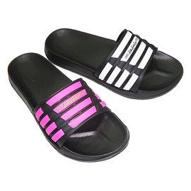 AERO KISS  輕量淑女涼拖鞋MITˊ6285~23 黑 白,黑 紅兩個顏色^(36