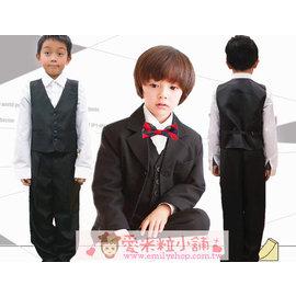B12 小王子 兒童西裝 花童服外套 背心 襯衫 褲子 領結 鋼琴表演 42~48碼 ~愛