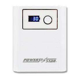 POWER STAR~三位數字型電量顯示~12000mAh行動電源~白色