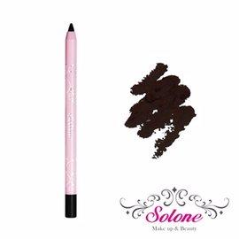 Solone 玫瑰公主花園系列防水眼線膠筆01濃密黑