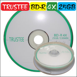 Trustee BD~R 4X 25G A級藍光燒錄片 空白光碟片~僅供Pioneer燒錄