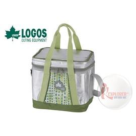 探險家戶外用品㊣NO.81670500 日本品牌LOGOS INSUL10軟式超凍袋M1 - 6L 保冷箱行動冰箱 冰筒 冰桶