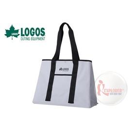 探險家戶外用品㊣NO.88201000 日本品牌LOGOS AQUA防水托特包-白 手提袋 肩背袋 側背斜背 大方包