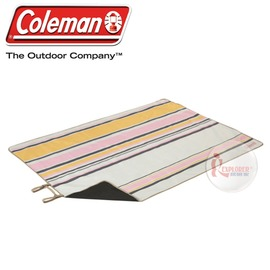 探險家戶外用品㊣CM-5597美國Coleman 野餐休閒毯140*200 防潮墊野餐墊地墊 野餐毯野營墊