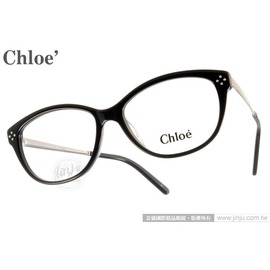 Chloe 光学眼镜 CL2631 320 (墨绿) 复古小猫眼 平光镜框 # 金橘眼镜