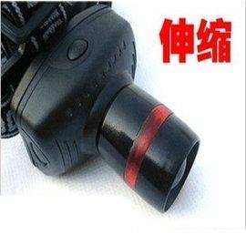 (可伸縮) 3W LED強光頭燈/露營燈/帽子燈/釣魚燈/單車燈 (帶紅圈TK27)
