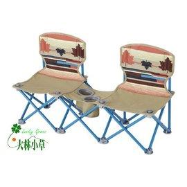大林小草~【73170018】日本LOGOS印地安雙人野營椅 情人椅親子椅對對椅雙人椅