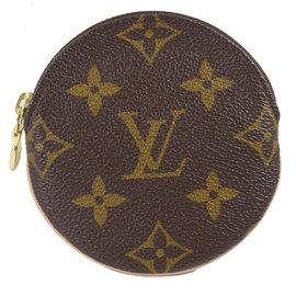 Louis Vuitton LV M61926 Monogram 花紋圓形零錢包 價 7
