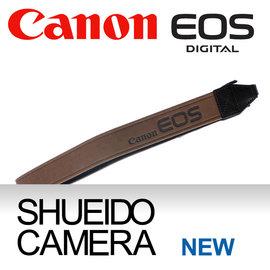 集英堂写真機~全國~CANON BROWN II 30 STRAP 相機背帶 肩背帶  棕