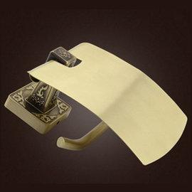 5Cgo ~ 七天交貨~ 36857031918 廁紙架 全銅卷紙架 卷捅紙架 方形有蓋廁