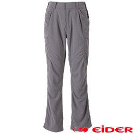 【黎陽戶外用品】法國 EiDER EIT1482 多 排汗透氣抗UV長褲 男款 深灰 多口