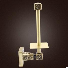 5Cgo ~ 七天交貨~ 36859069631 衛浴 廁紙架 全銅方形卷紙架 卷捅紙架