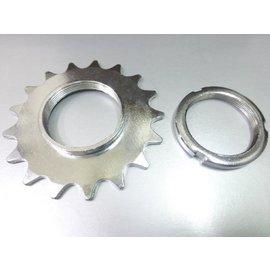 死飛輪 18T 附固定環 ^(鎖牙式^)~死齒 固定齒~意生自行車~