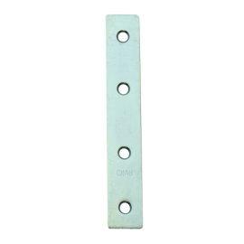 直角鐵 一字型固定鐵片 固定片 木工 加強(補強) 4孔 台灣製(2入)