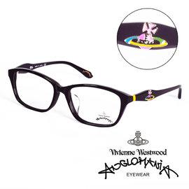 Vivienne Westwood 英國Anglomania英倫龐克土星環光學眼鏡^(黑^