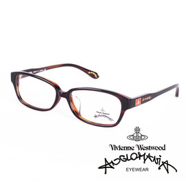 Vivienne Westwood 英國Anglomania英倫龐克方塊土星環光學眼鏡 琥