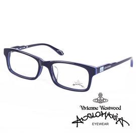 Vivienne Westwood 英國Anglomania英倫龐克方塊土星環光學眼鏡 黑