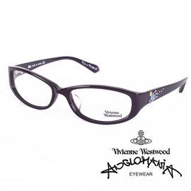 Vivienne Westwood 英國薇薇安魏斯伍德土星環施華洛世奇鑽點綴款 深咖啡 V