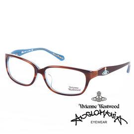 Vivienne Westwood 英國薇薇安魏斯伍德 土星環款 咖啡 藍 VW26202