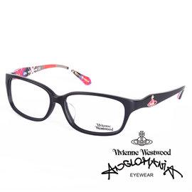 Vivienne Westwood 英國薇薇安魏斯伍德 土星環款^(黑 紅格紋^)VW26