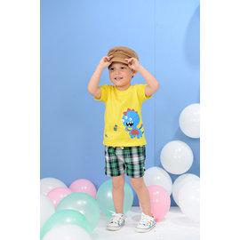 BABY KING 4116格子短褲90cm^~140cm