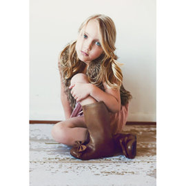 ~MerryGoAround~ Joyfolie Boots: Maci: 女童靴: 摩卡