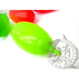 ◎百有釣具◎水球乒乓 浮標 塑膠材質 規格:1.0 / 1.5 (顏色隨機出貨)