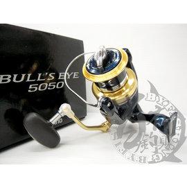 ◎百有釣具◎SHIMANO BULL'S EYE 5050/5080磯遠投輕量捲線器~