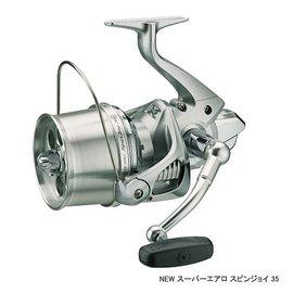 ◎百有釣具◎SHIMANO SUPER AERO SPIN JOY 遠投捲線器 35標準式樣 / 35細系式樣