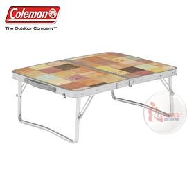 探險家戶外用品㊣CM-7001美國Coleman 自然風迷你桌 53*40 露營帳篷小桌 折疊桌 折合桌 摺疊桌