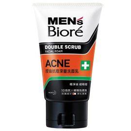 MEN'S Biore 男性專用控油抗痘深層洗面乳 100g