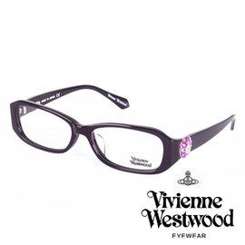 Vivienne Westwood 英國薇薇安魏斯伍德立體土星環鈕扣款 紫 VW26602