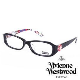 Vivienne Westwood 英國薇薇安魏斯伍德立體土星環鈕扣款 黑 藍格紋 VW2