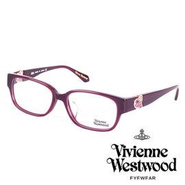 Vivienne Westwood 英國薇薇安魏斯伍德立體龐克多邊形土星款 紫面紫logo