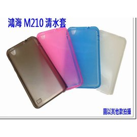 InFocus M210 富可視 高質感手機保護果凍清水套 / 矽膠套 / 防震皮套