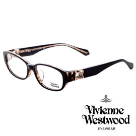 Vivienne Westwood 英國薇薇安魏斯伍德立體浮雕心型土星款^(黑 棕琥珀^)