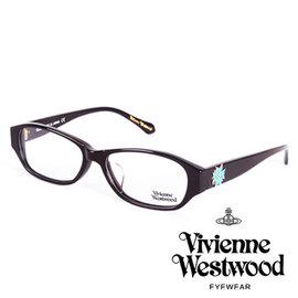 Vivienne Westwood 英國薇薇安魏斯伍德立體龐克多邊形土星款 黑面水藍log